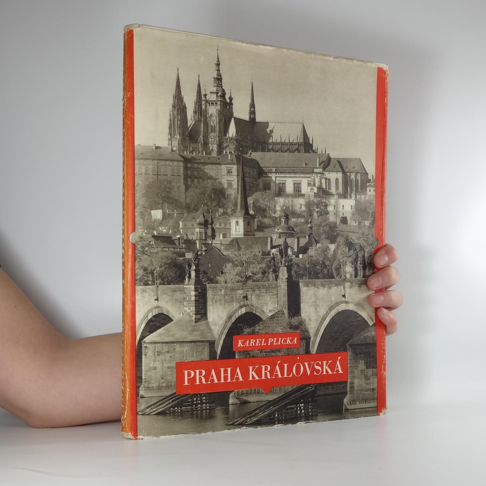 antikvární kniha Praha královská, 1957