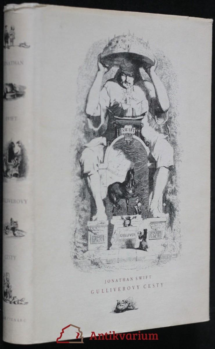 antikvární kniha Guliverovy cesty , 1958