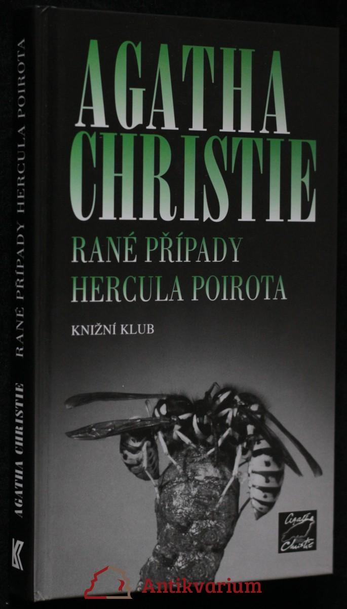 antikvární kniha Rané případy Hercula Poirota, 2007