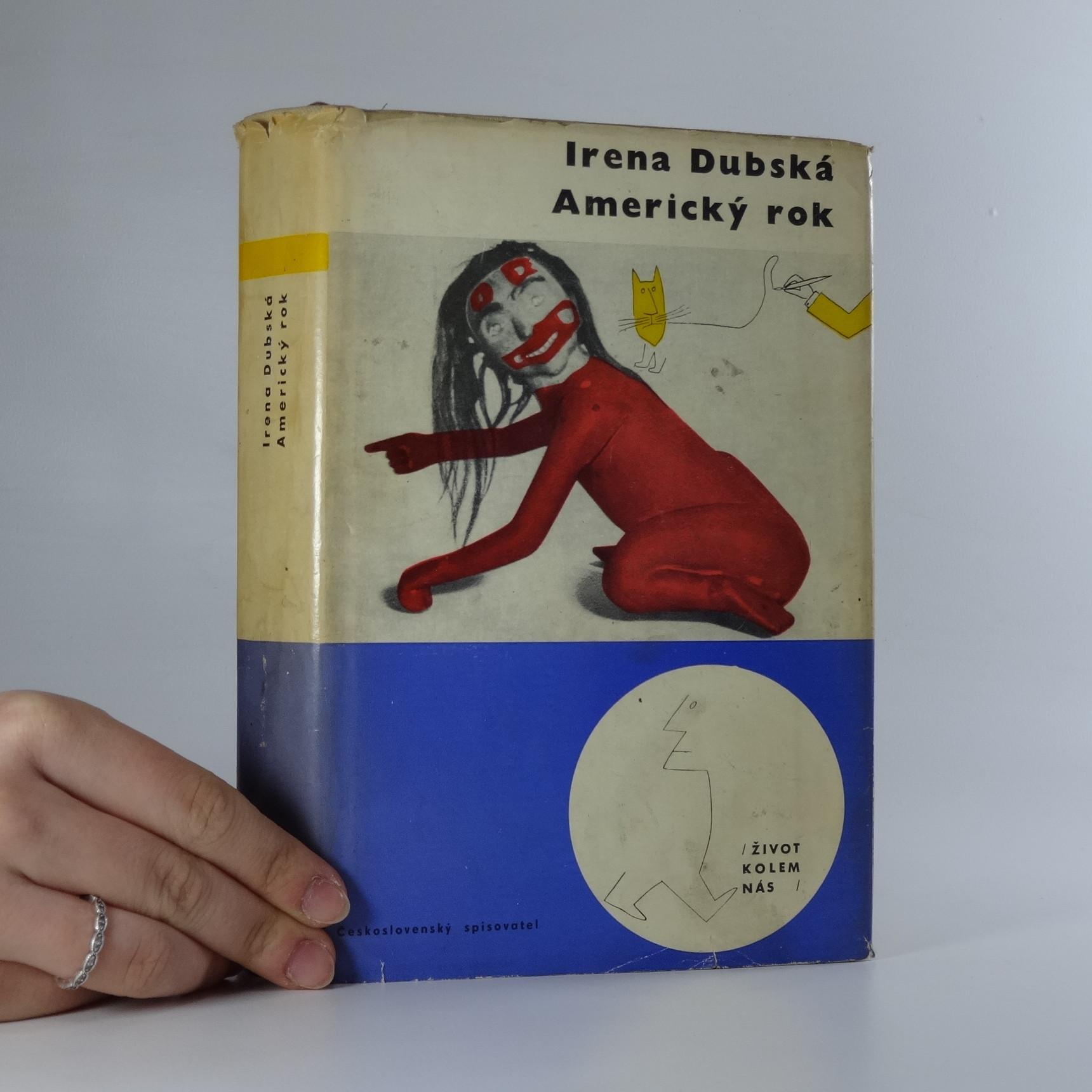 antikvární kniha Americký rok, 1966