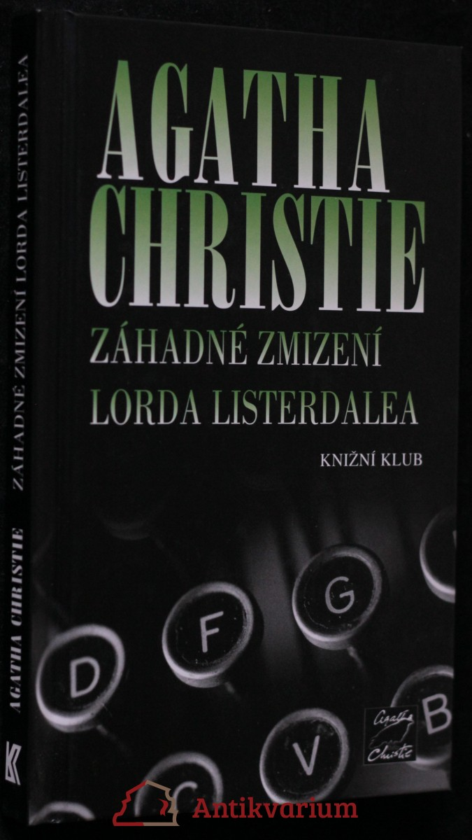 antikvární kniha Záhadné zmizení lorda Listerdalea, 2005