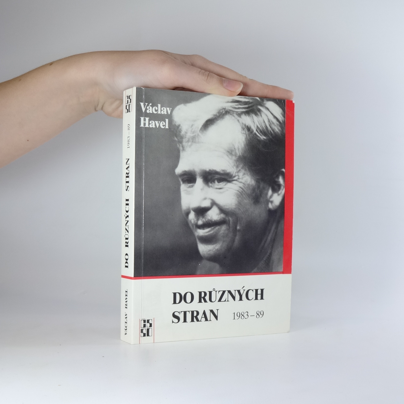 antikvární kniha Do různých stran. Eseje a články z let 1983 - 1989, 1989