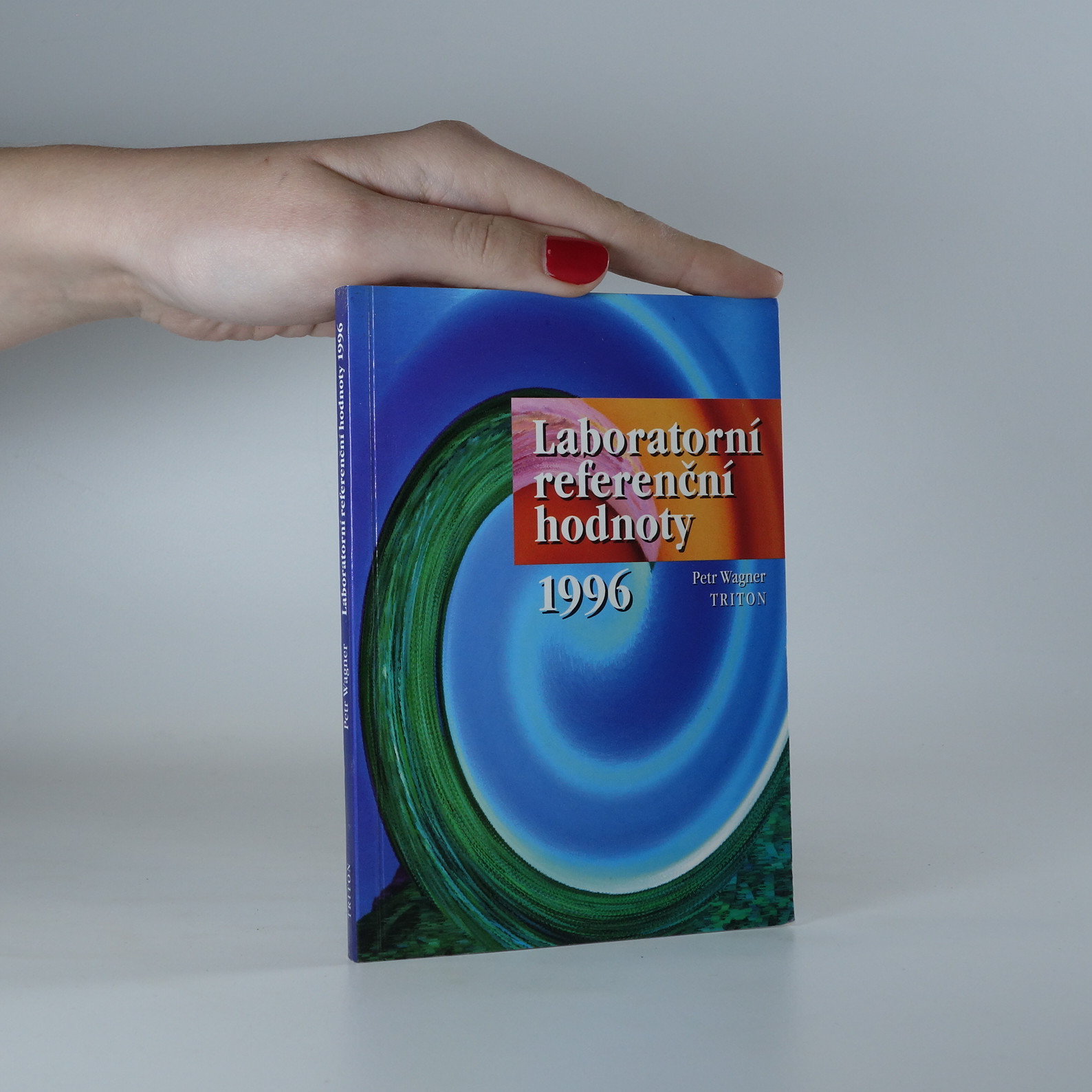 antikvární kniha Laboratorní referenční hodnoty 1996, 1996