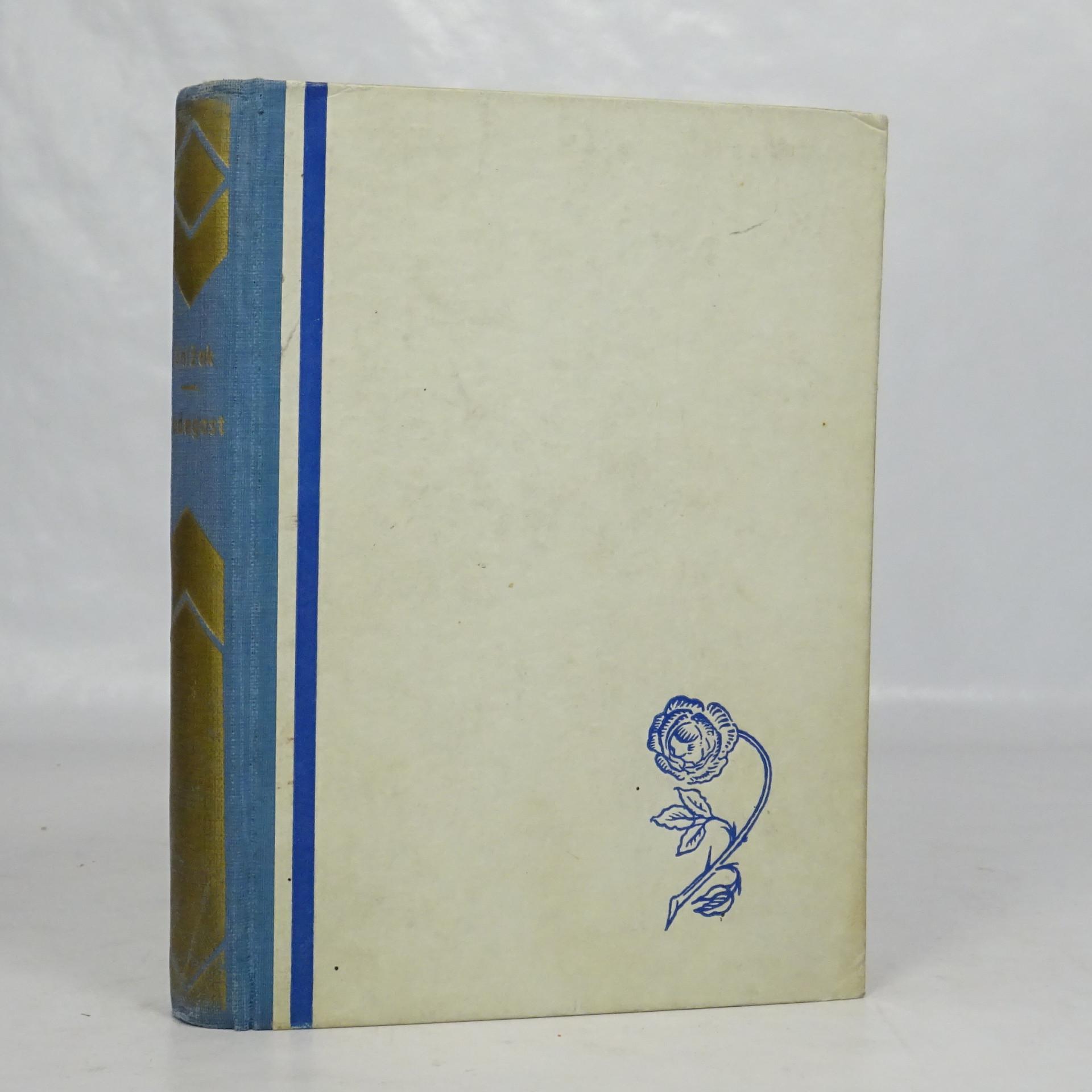 antikvární kniha Radegast. Prales., 1936