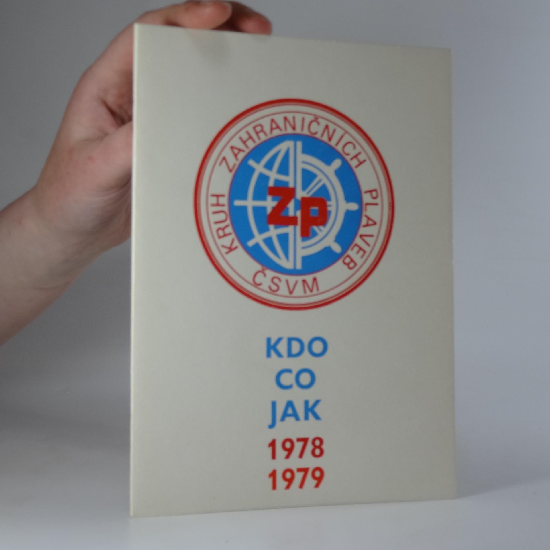 antikvární kniha Kdo? co? jak? 1978/1979, 1980