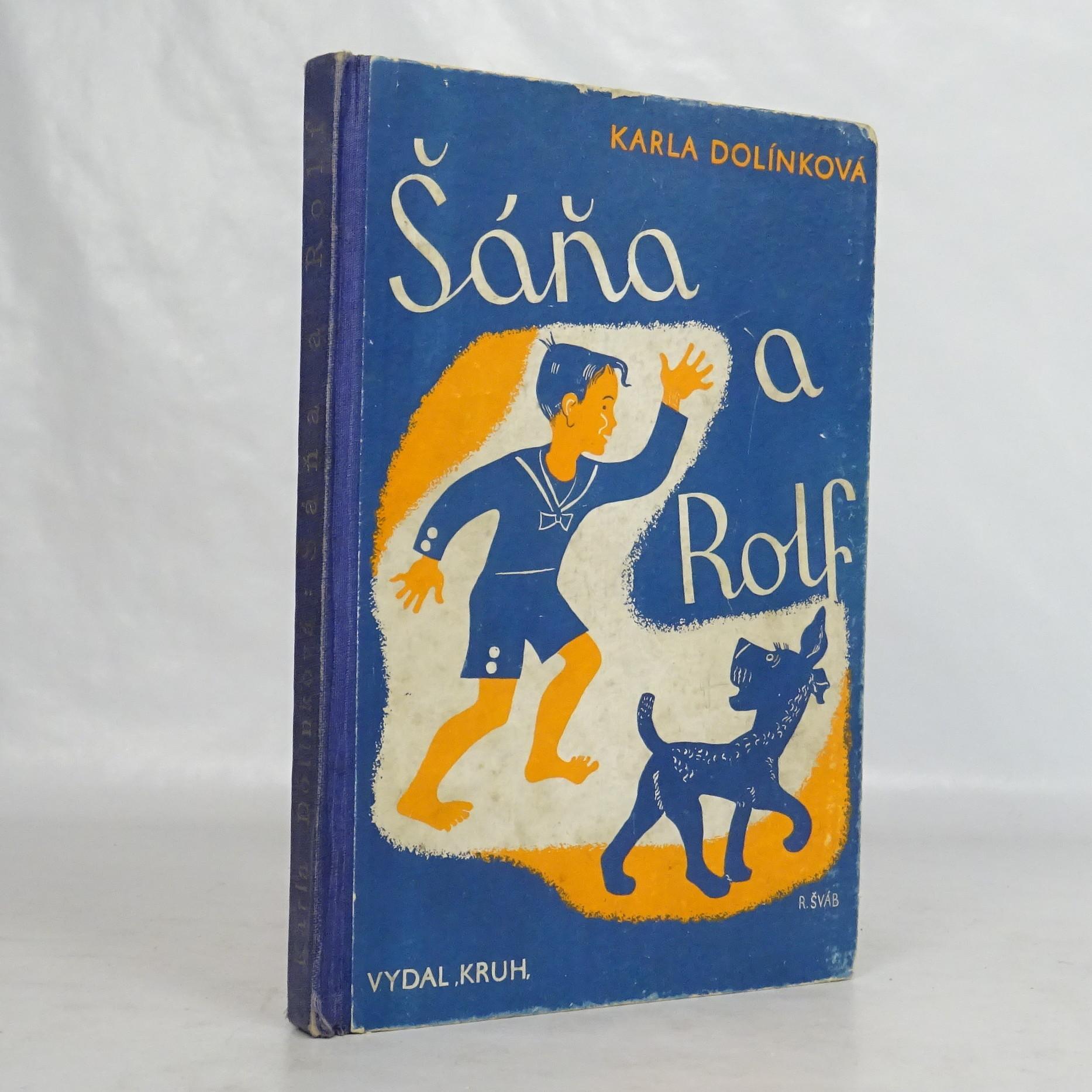 antikvární kniha Šáňa a Rolf, 1936