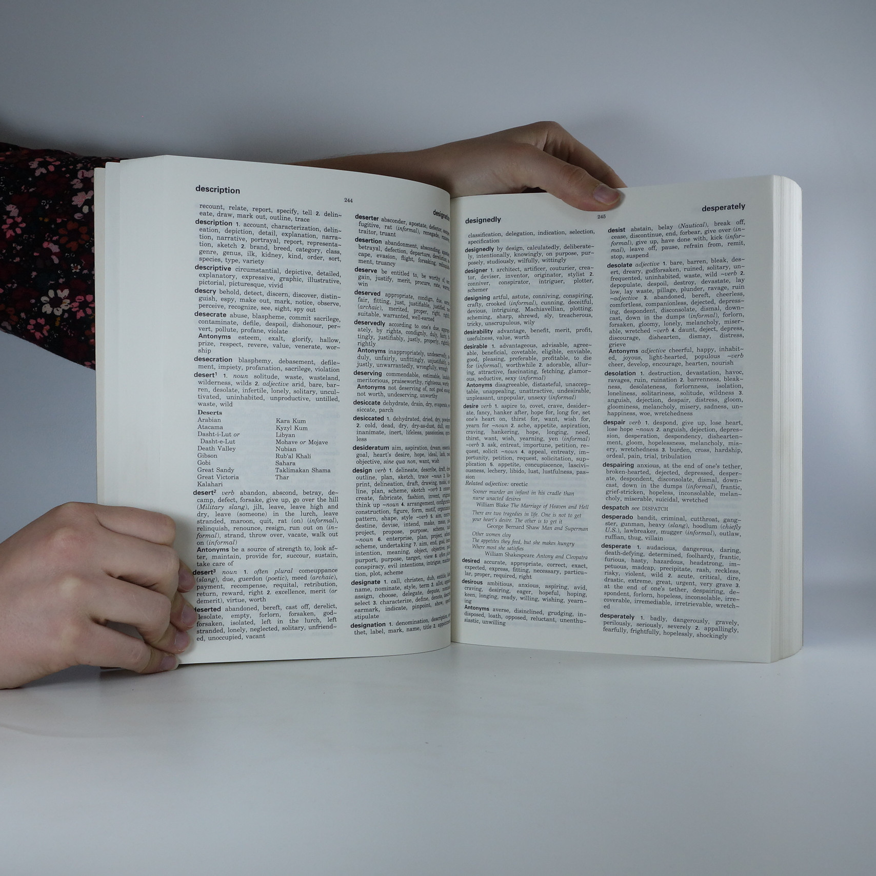 Collins Thesaurus  The ultimate wordfinder , 1995