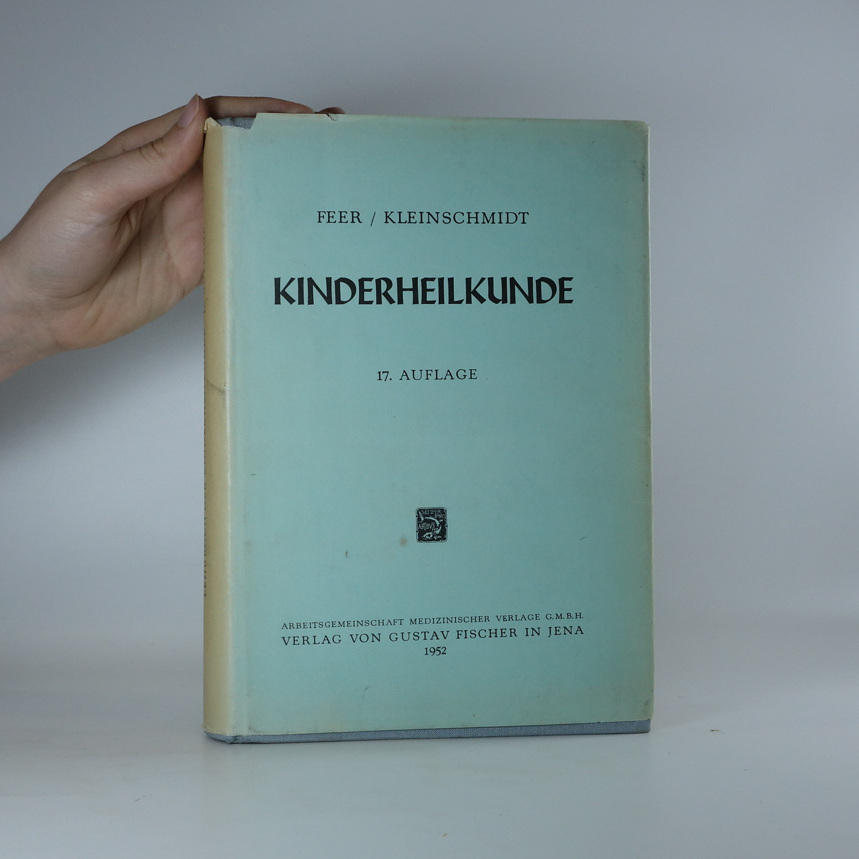antikvární kniha Lehrbuch der Kinderheilkunde, 1952