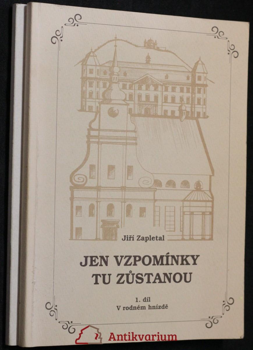 antikvární kniha Jen vzpomínky tu zůstanou (dva svazky), 2001
