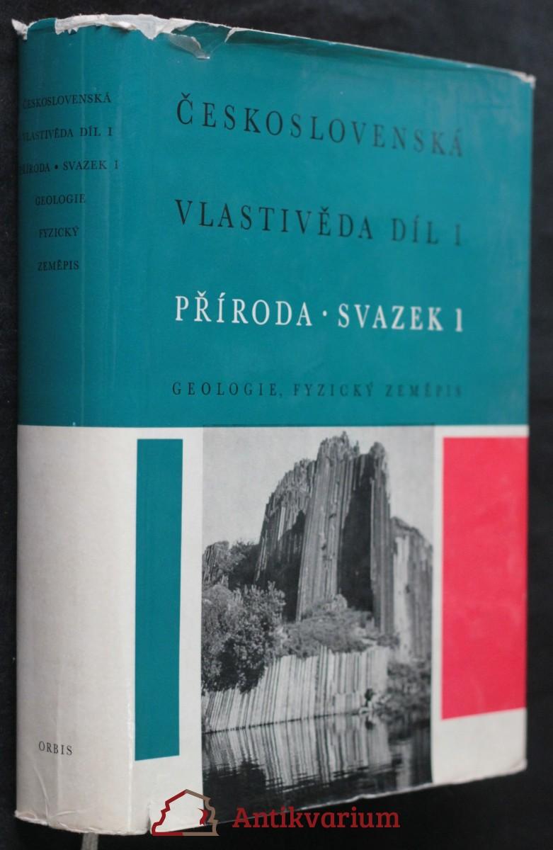 antikvární kniha Československá vlastivěda (1. svazek), 1968