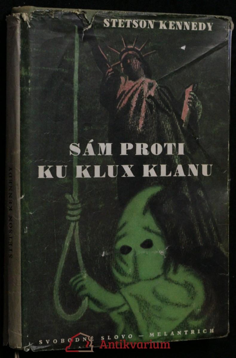 antikvární kniha Sám proti Ku Klux Klanu, 1955