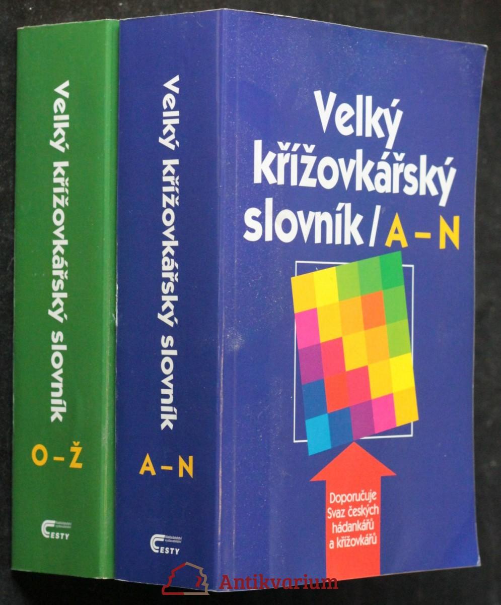 antikvární kniha Velký křížovkářký slovník (2 svazky), 2002