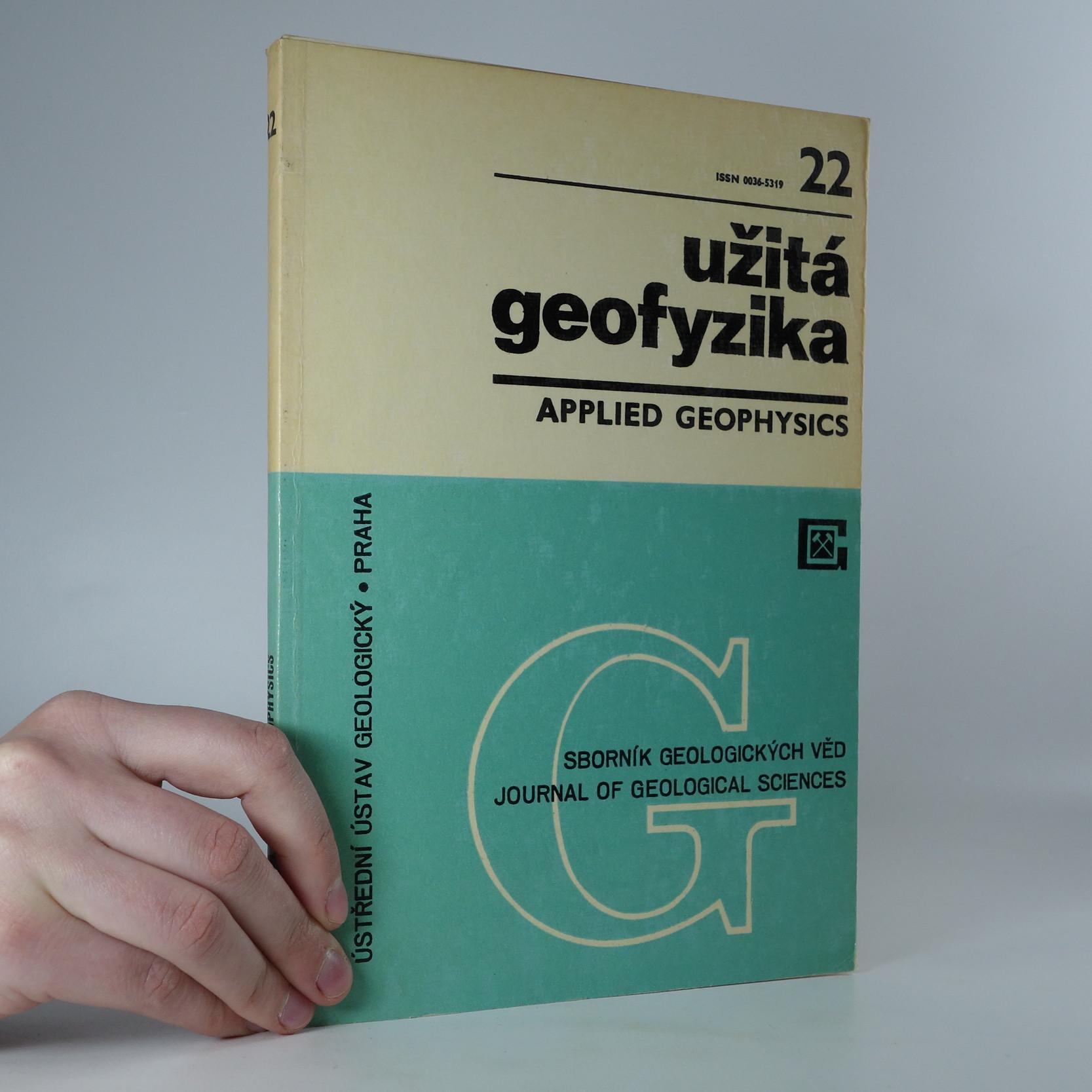 antikvární kniha Sborník geologických věd. Užitá geofyzika (č. 22), 1988