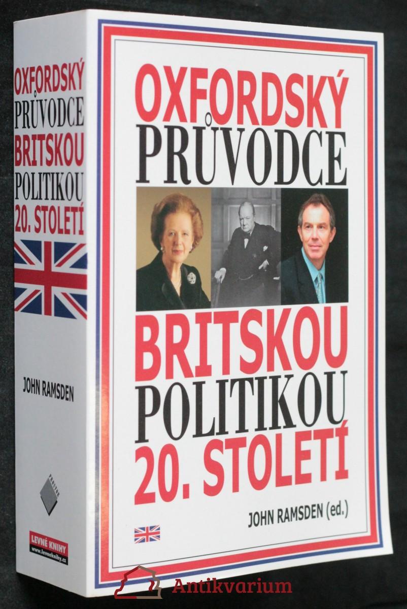 antikvární kniha Oxfordský průvodce britskou politikou 20. století, 2002