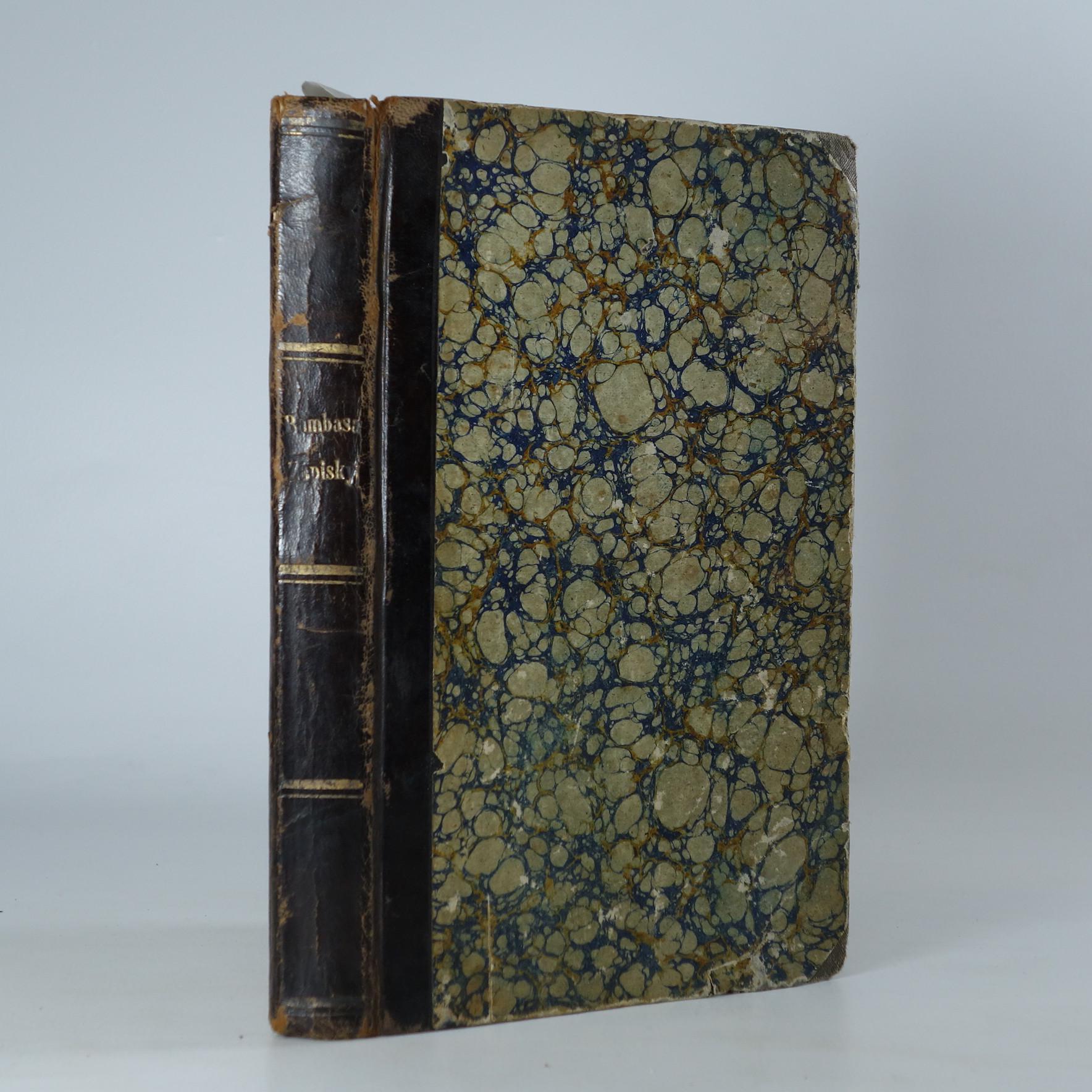 antikvární kniha Zápisky z církve vyobcovaného kněze dr. Augustina Smetany, 1863