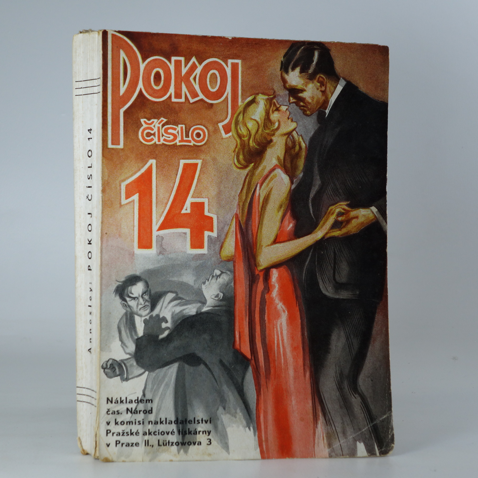 antikvární kniha Pokoj číslo 14, neuveden