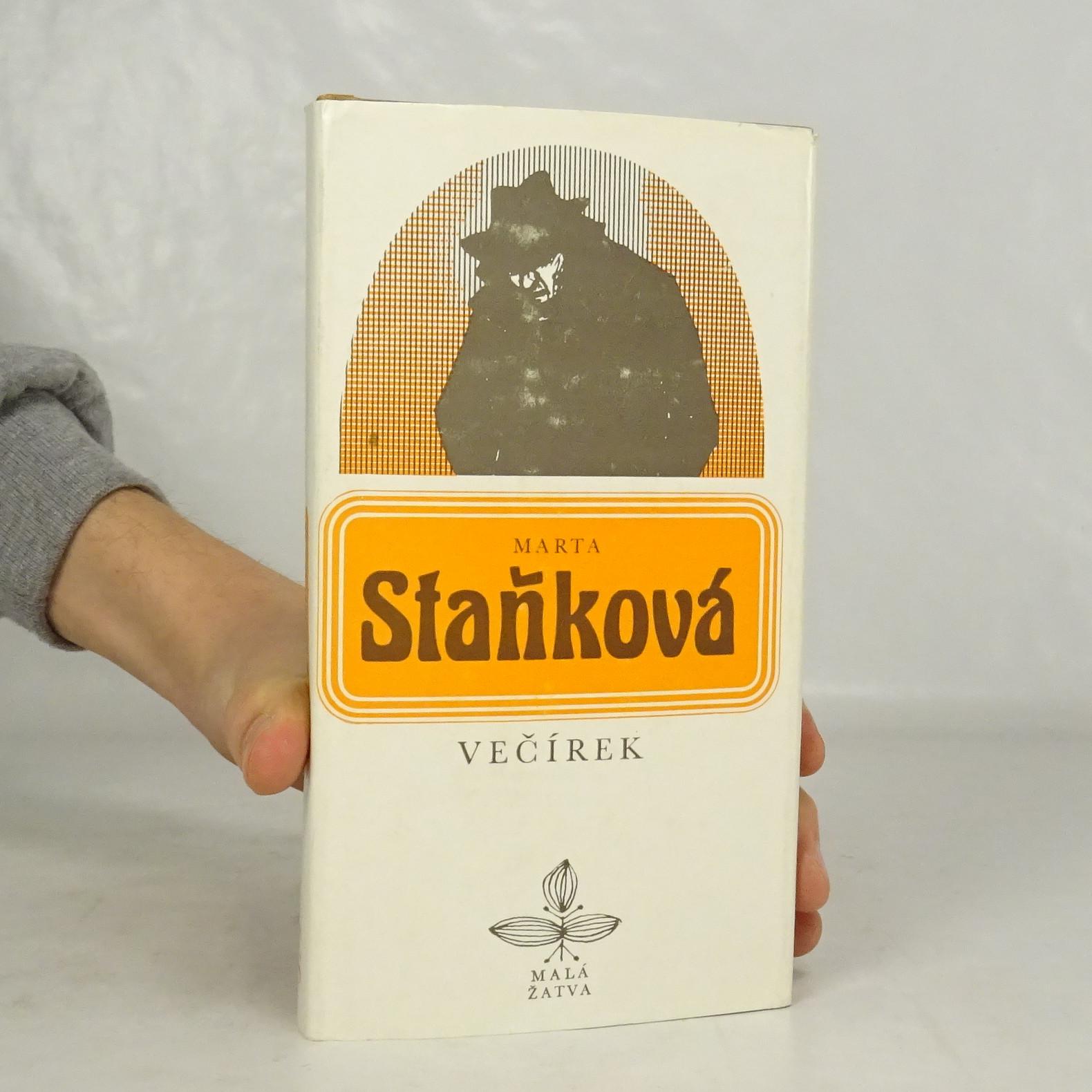 antikvární kniha Večírek, 1981