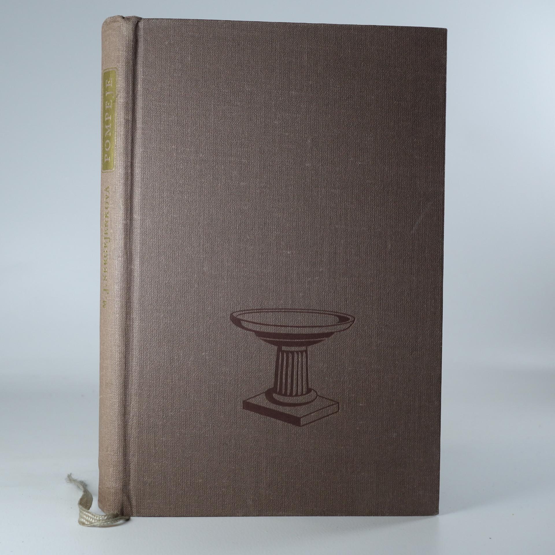antikvární kniha Pompeje, 1953