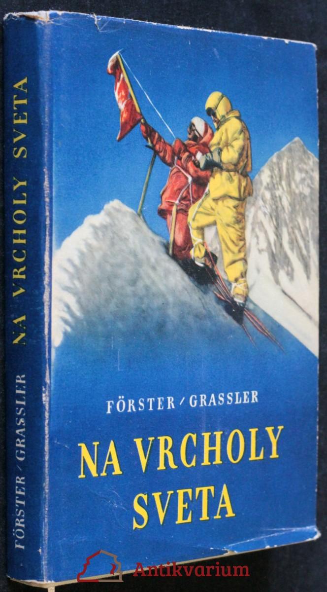 antikvární kniha Na vrcholy sveta, 1960