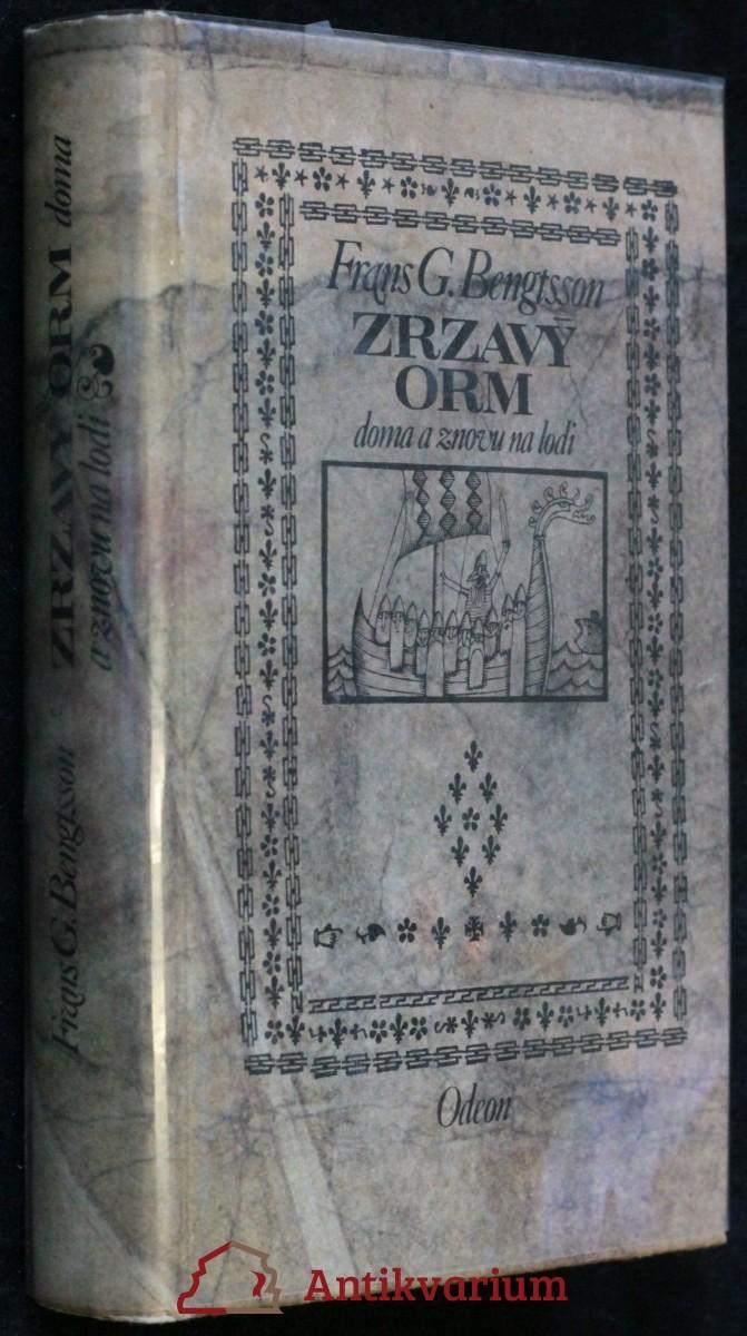antikvární kniha Zrzavý Orm doma a znova na lodi, 1963
