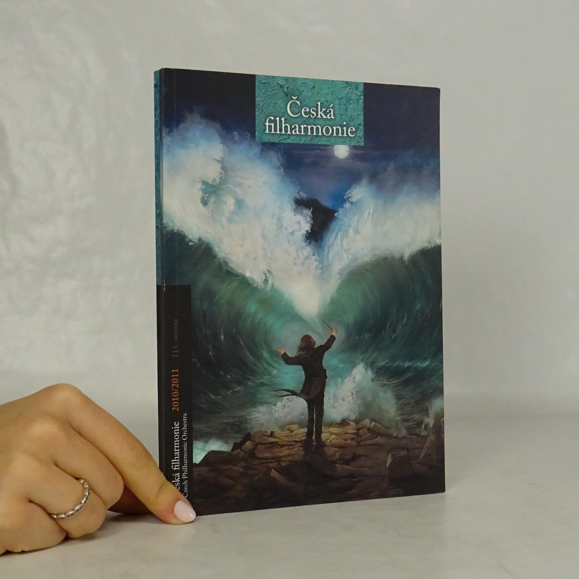antikvární kniha Česká filharmonie 2010/2011, neuveden