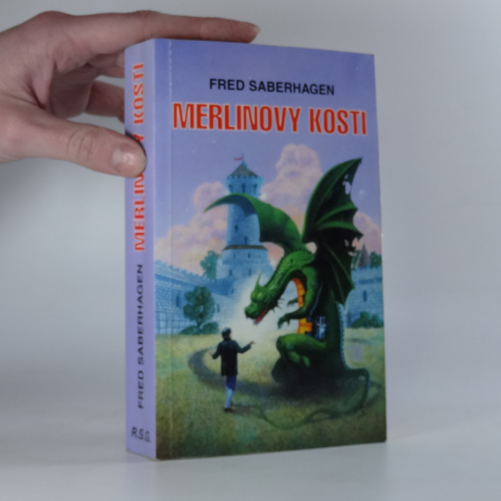 antikvární kniha Merlinovy kosti, 1997
