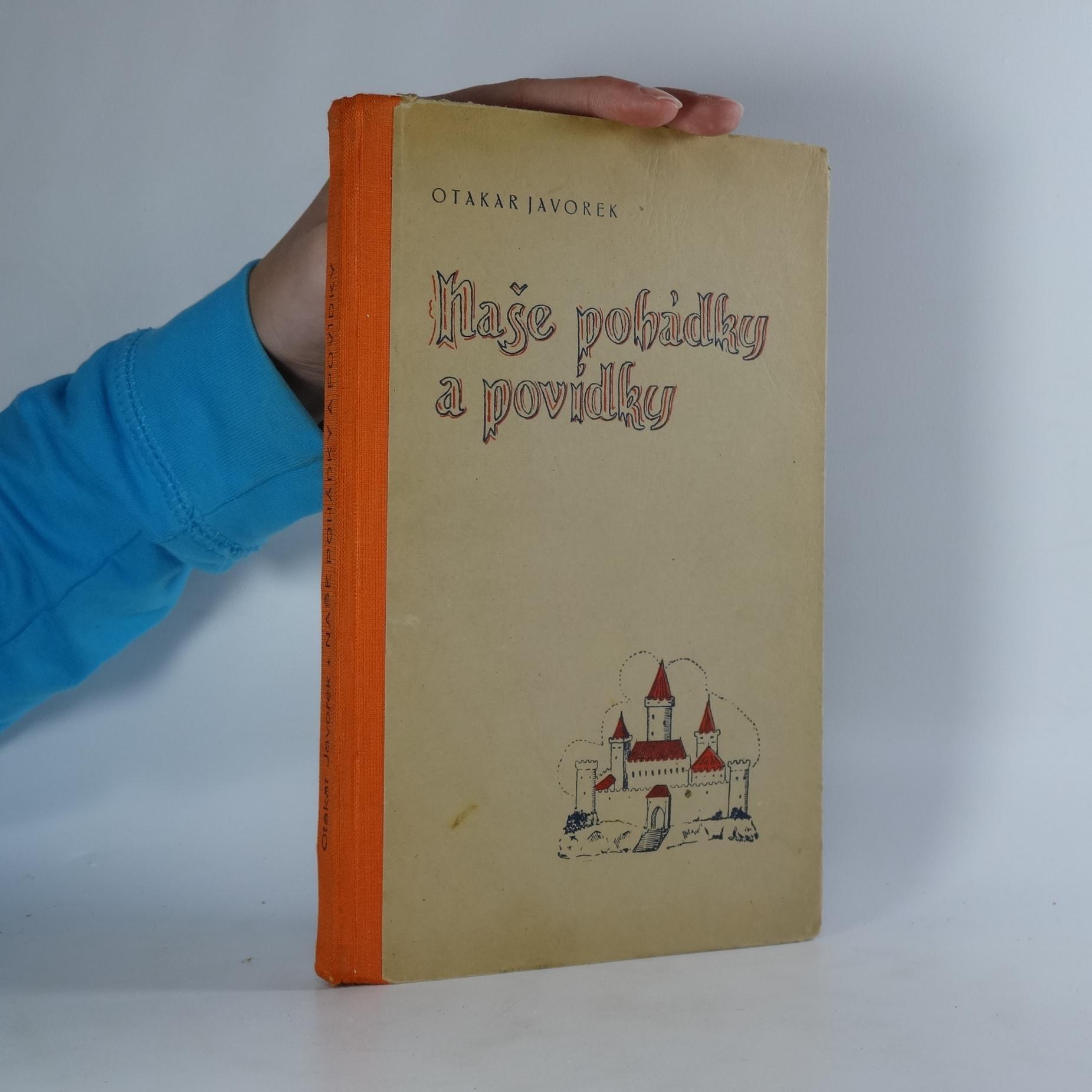 antikvární kniha Naše pohádky a povídky, neuveden