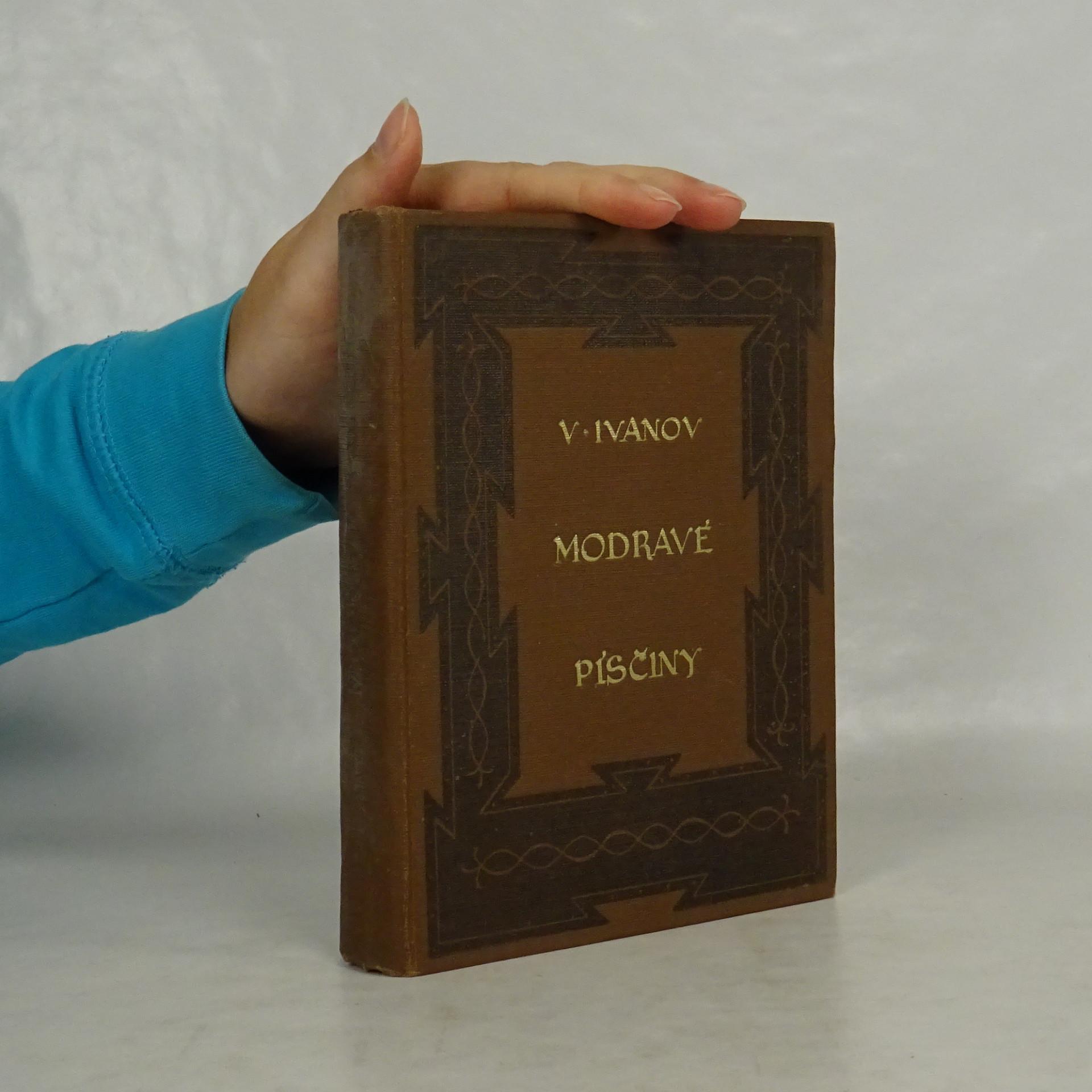 antikvární kniha Modravé písčiny, 1925