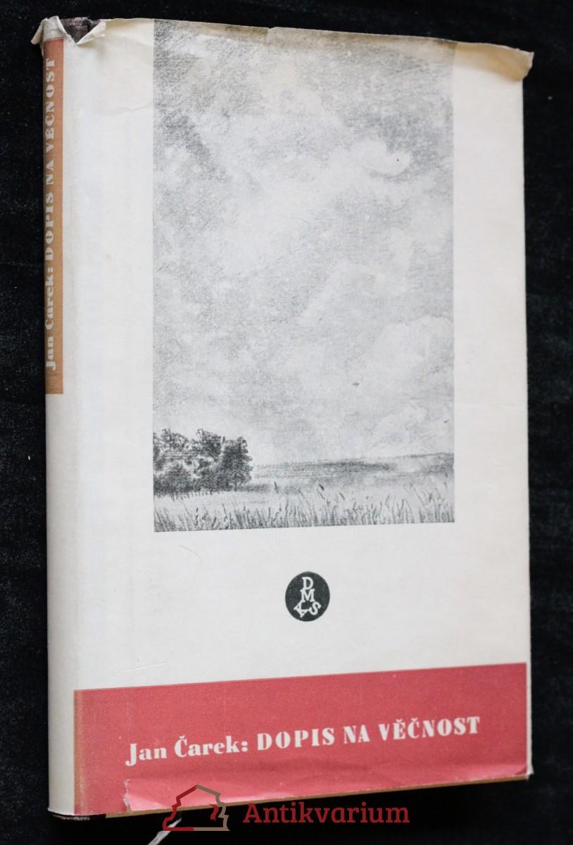 antikvární kniha Dopis na věčnost, 1947