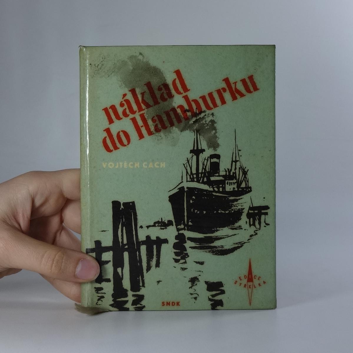 antikvární kniha Náklad do Hamburku, 1959