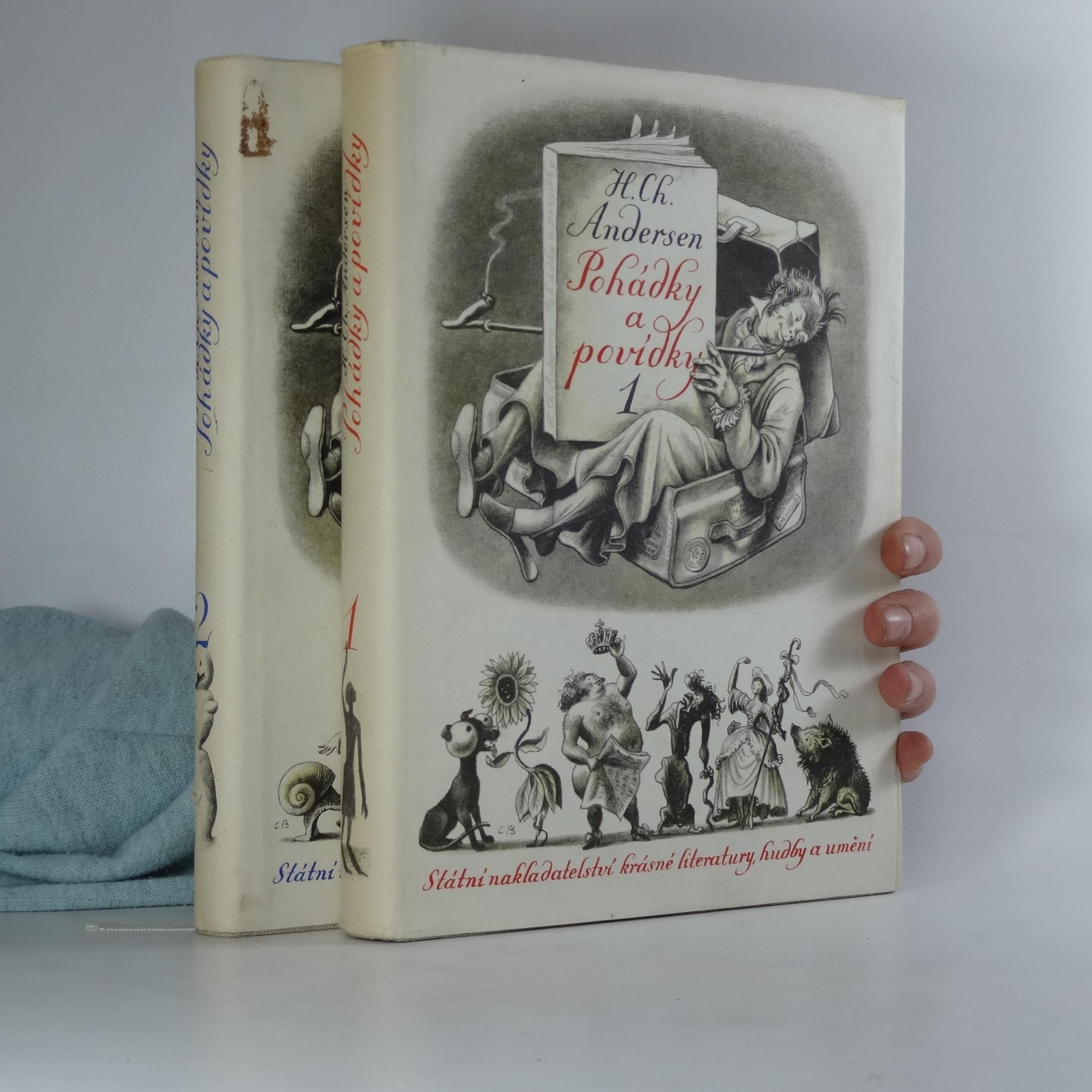 antikvární kniha Pohádky a povídky 1-2. díl, 1955