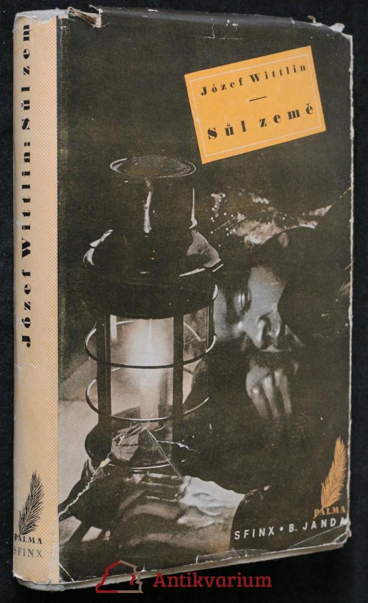 antikvární kniha Sůl země, 1937