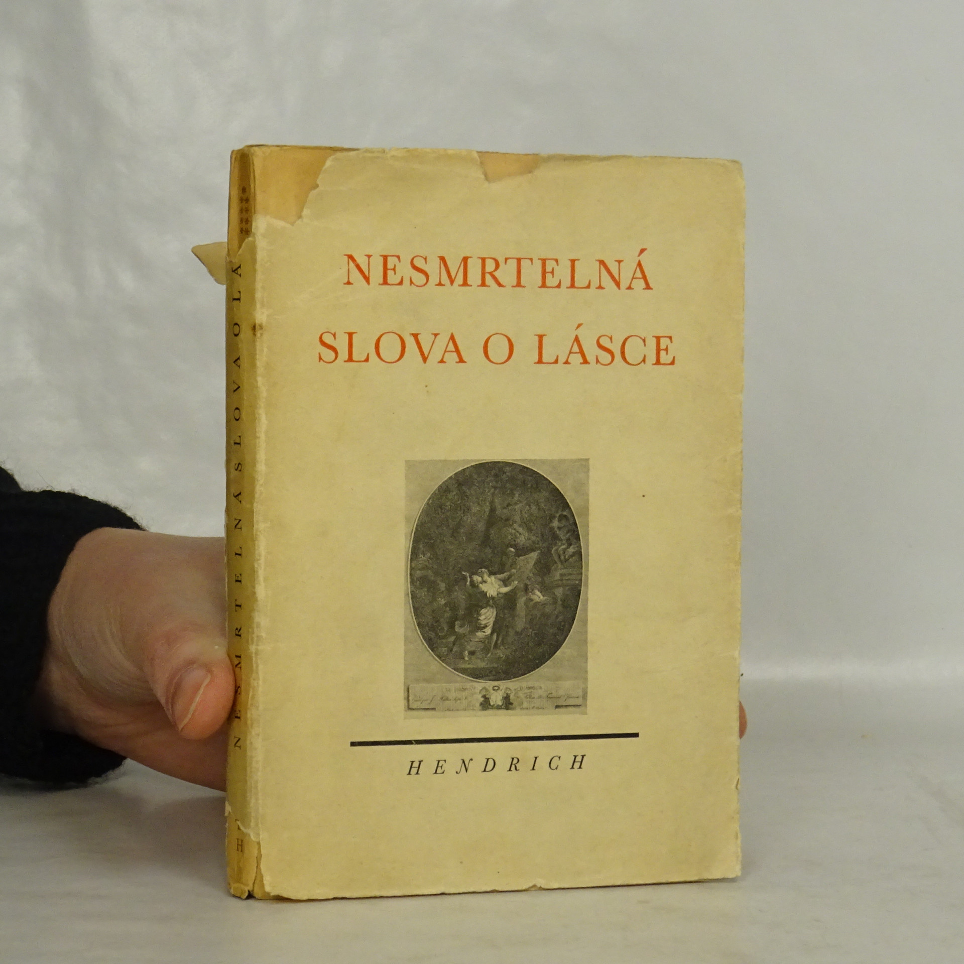 antikvární kniha Nesmrtelná slova o lásce, 1942