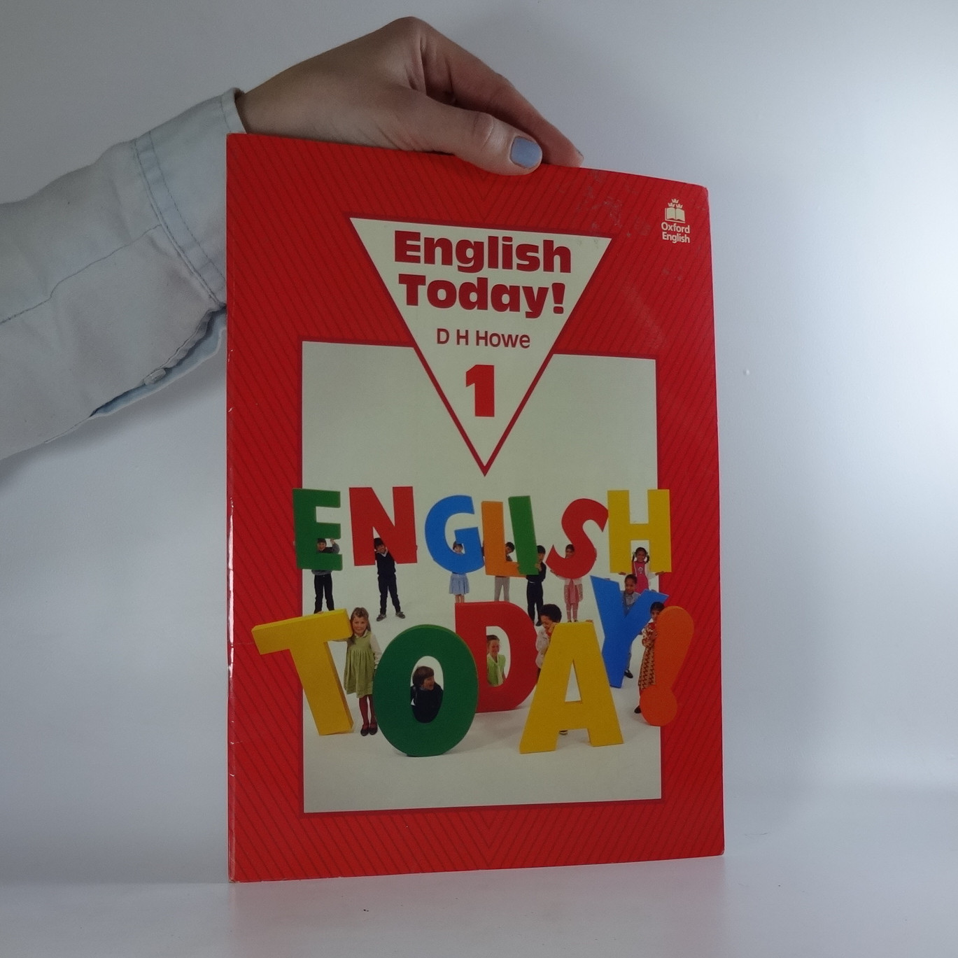 antikvární kniha English today, 1996