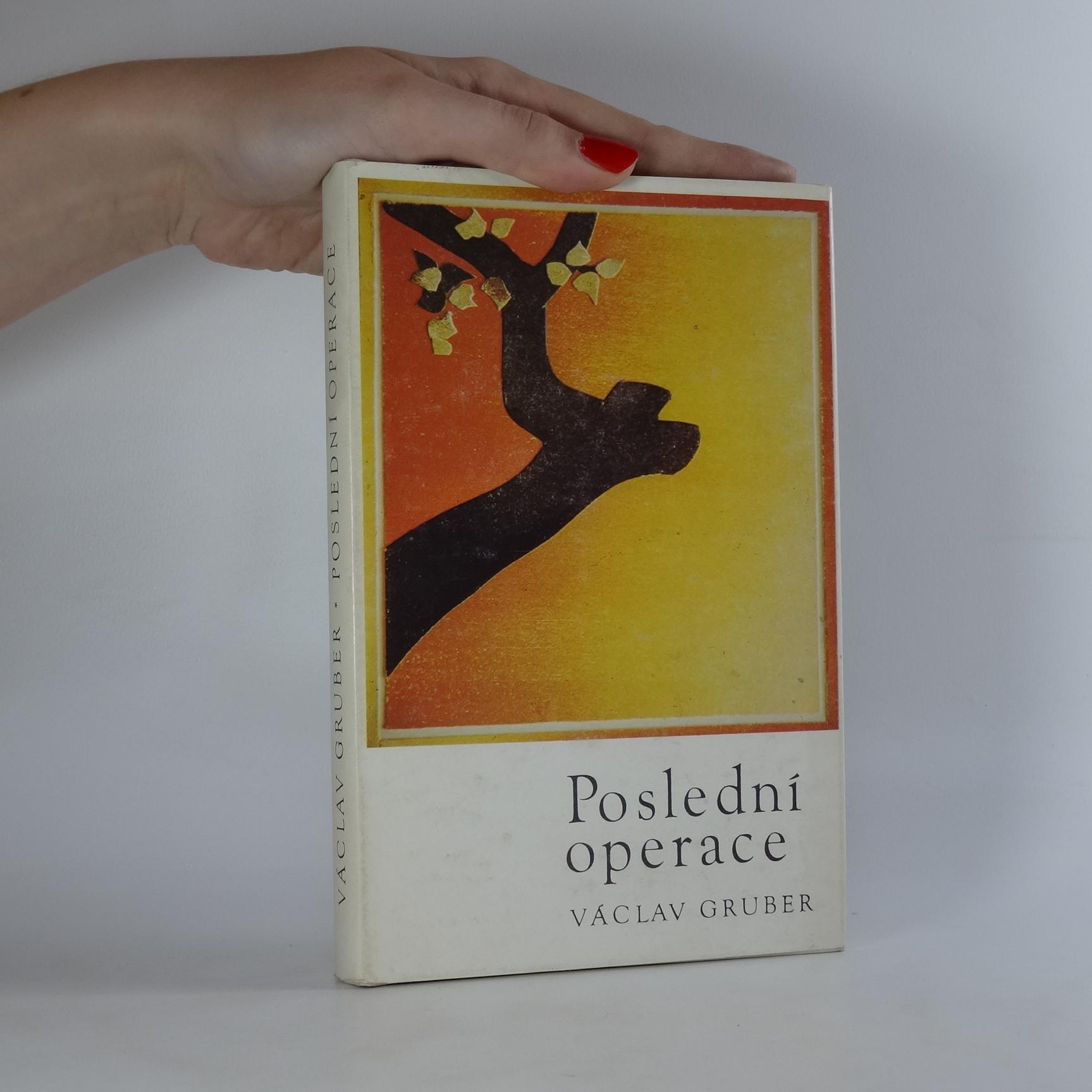 antikvární kniha Poslední operace, 1988