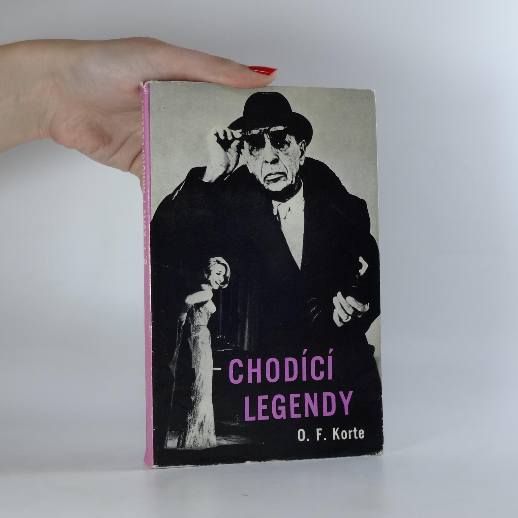 antikvární kniha Chodící legendy (asi podpis), 1970