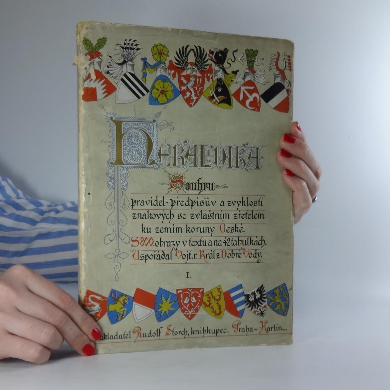 antikvární kniha Heraldika I. (nekompletní  - končí stranou 128), neuveden