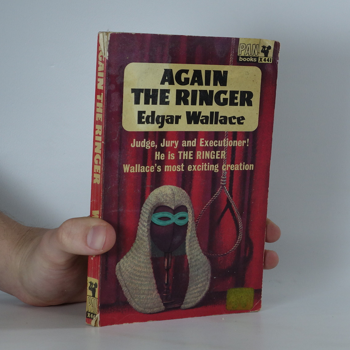 antikvární kniha Again the ringer, 1965