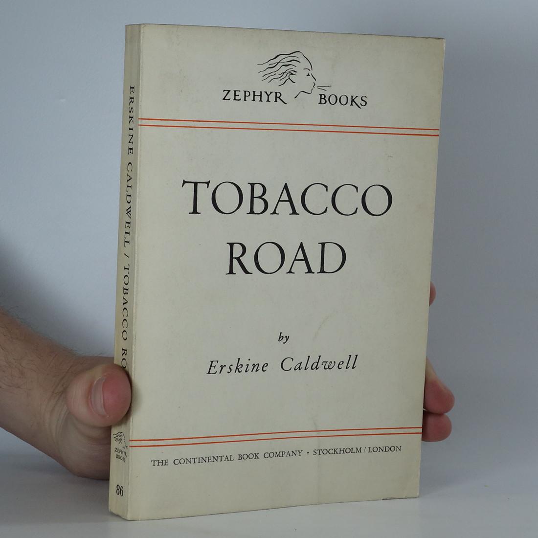 antikvární kniha Tobacco road, neuveden