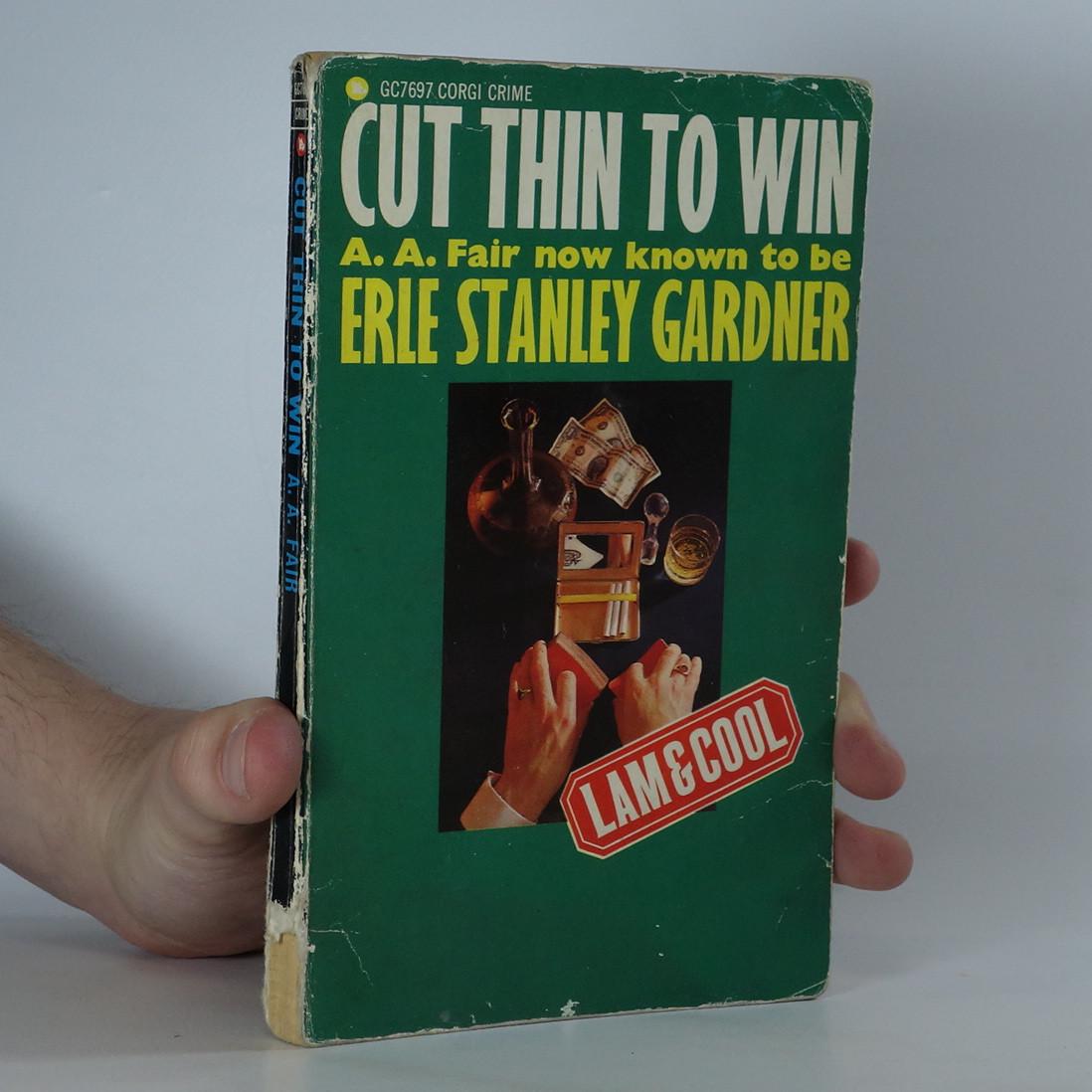 antikvární kniha Cut thin to win, 1967