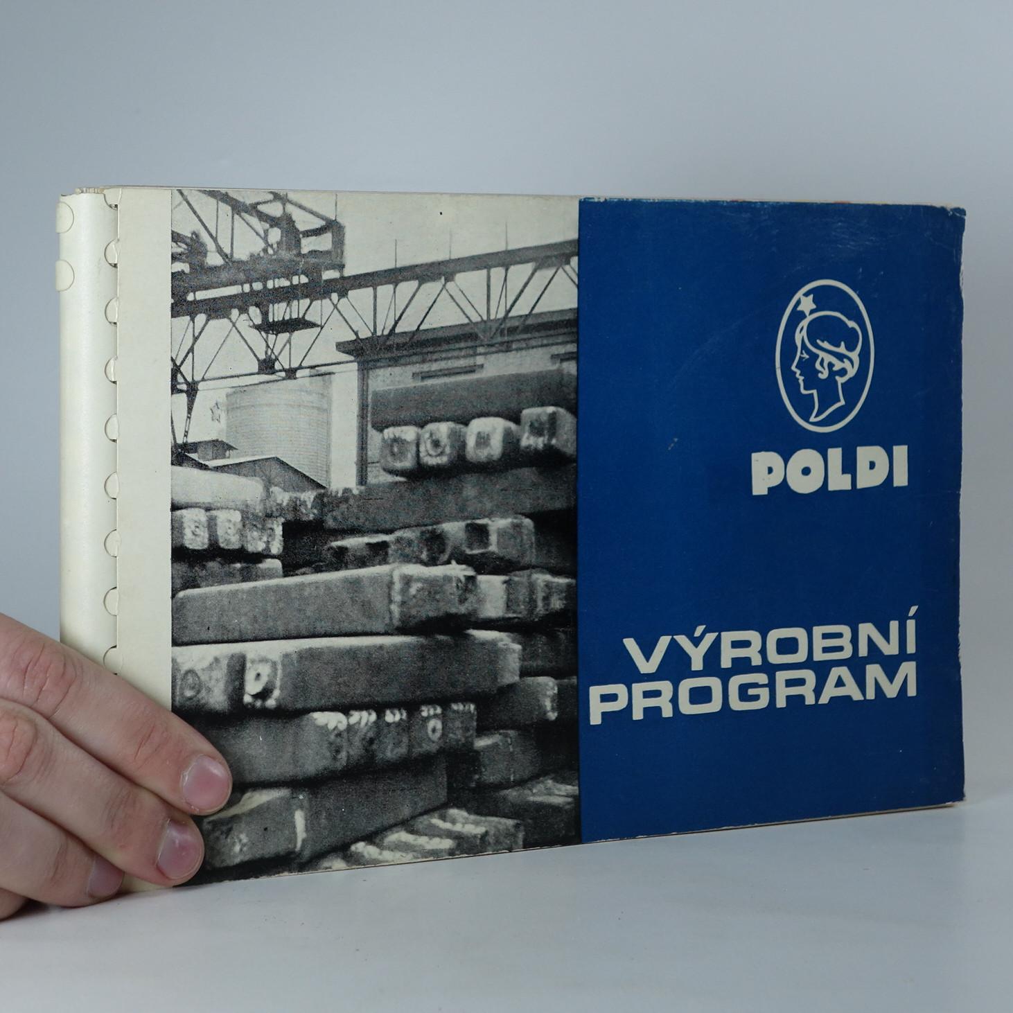 antikvární kniha Výrobní program Poldi, neuveden
