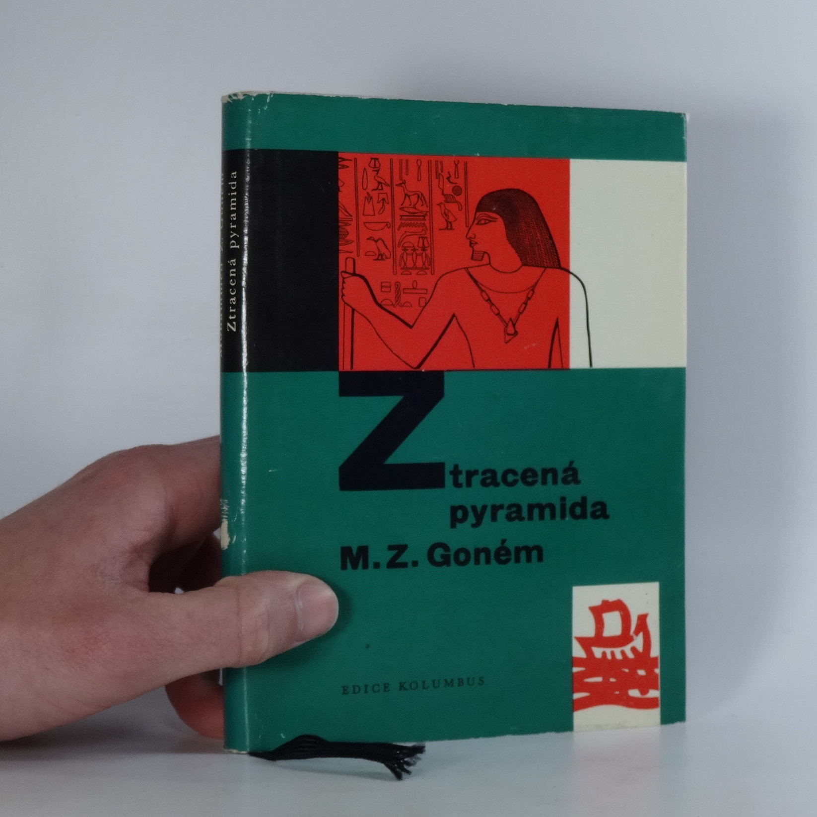 antikvární kniha Ztracená pyramida, 1963