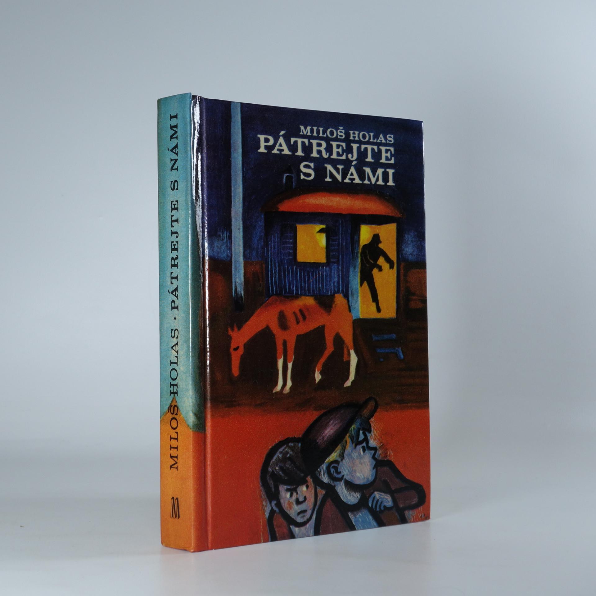 antikvární kniha Pátrejte s námi, 1971