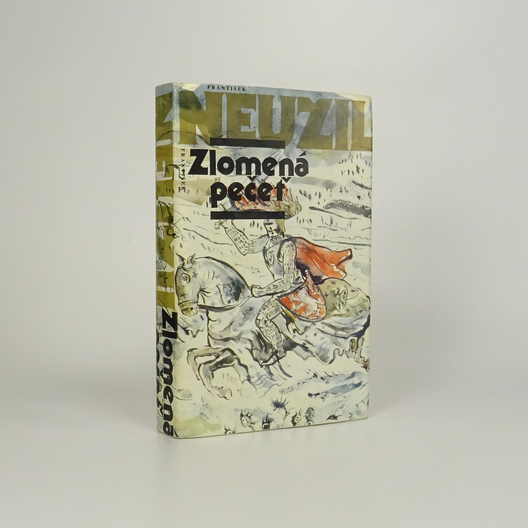 antikvární kniha Zlomená pečeť, 1988
