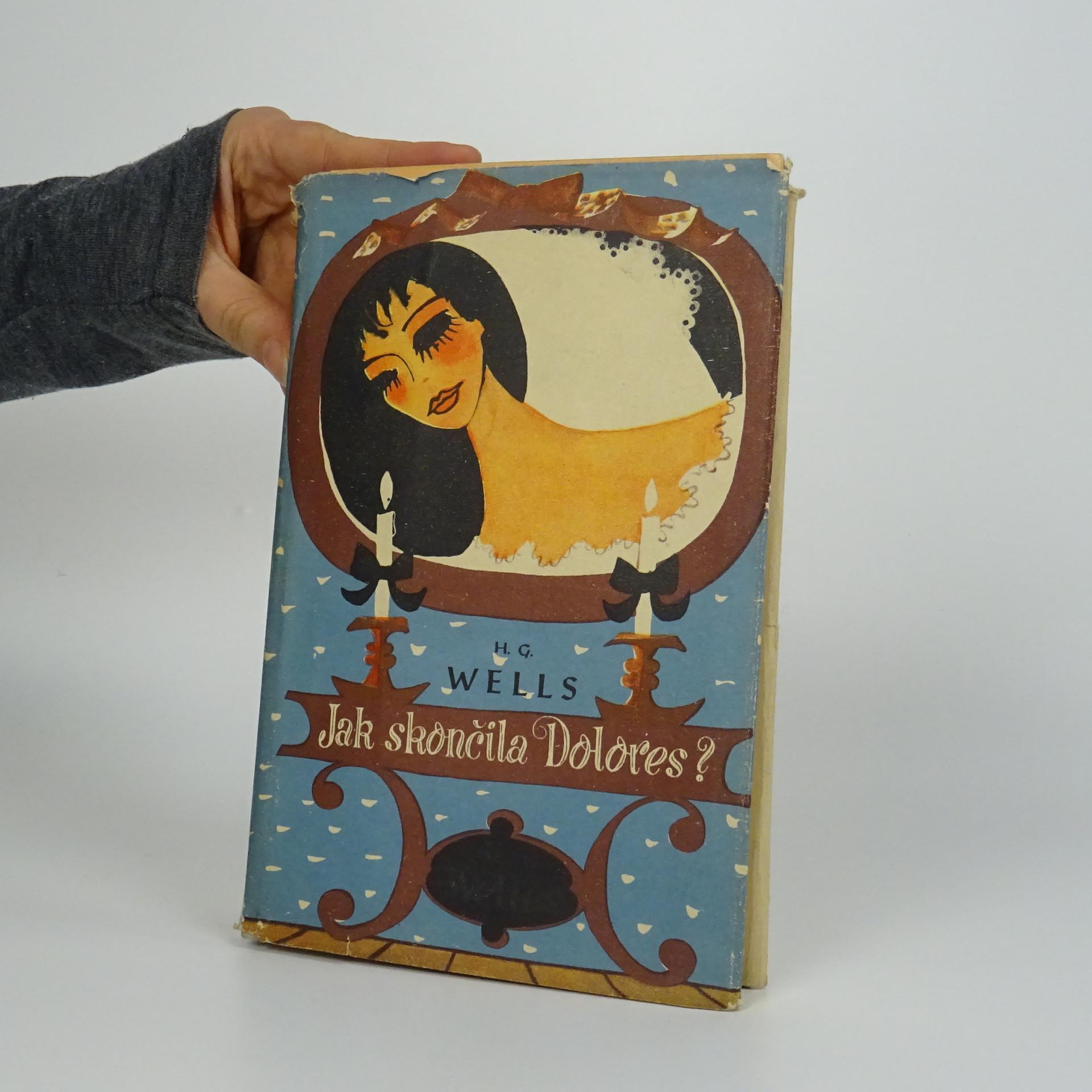 antikvární kniha Jak skončila Dolores? , 1948