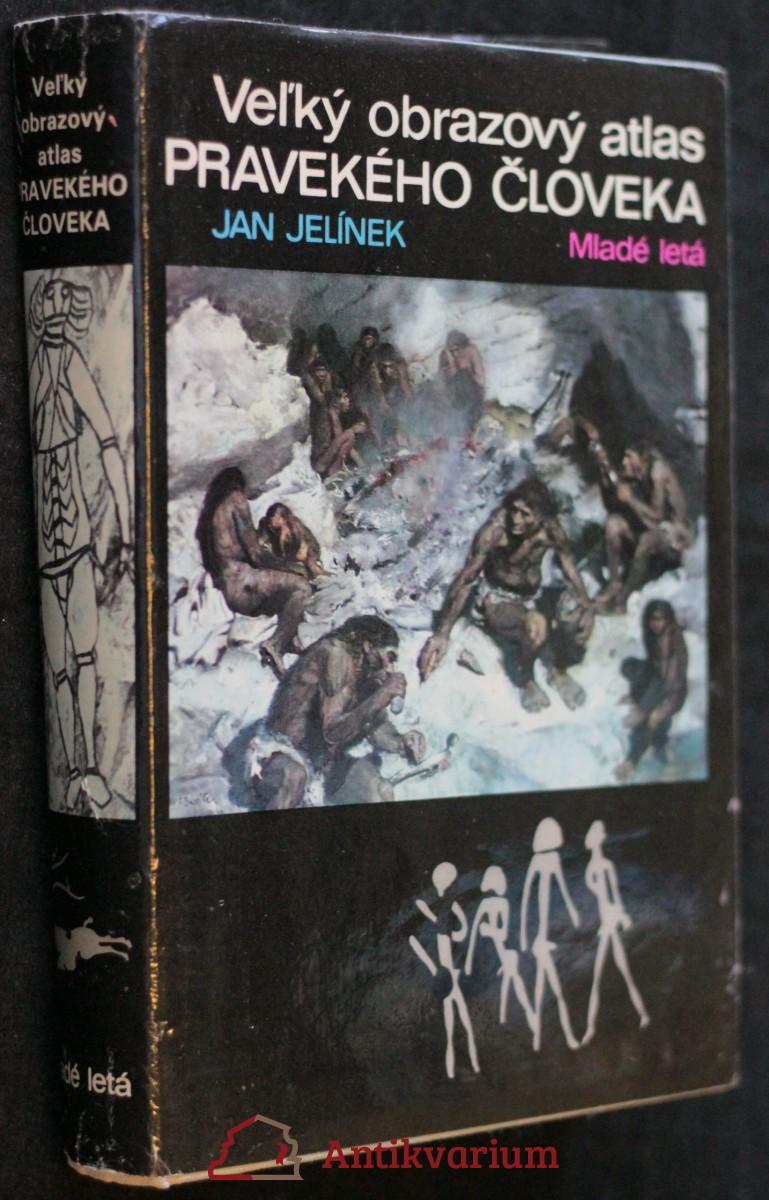 antikvární kniha Veľký obrazový atlas pravekého človeka, 1980