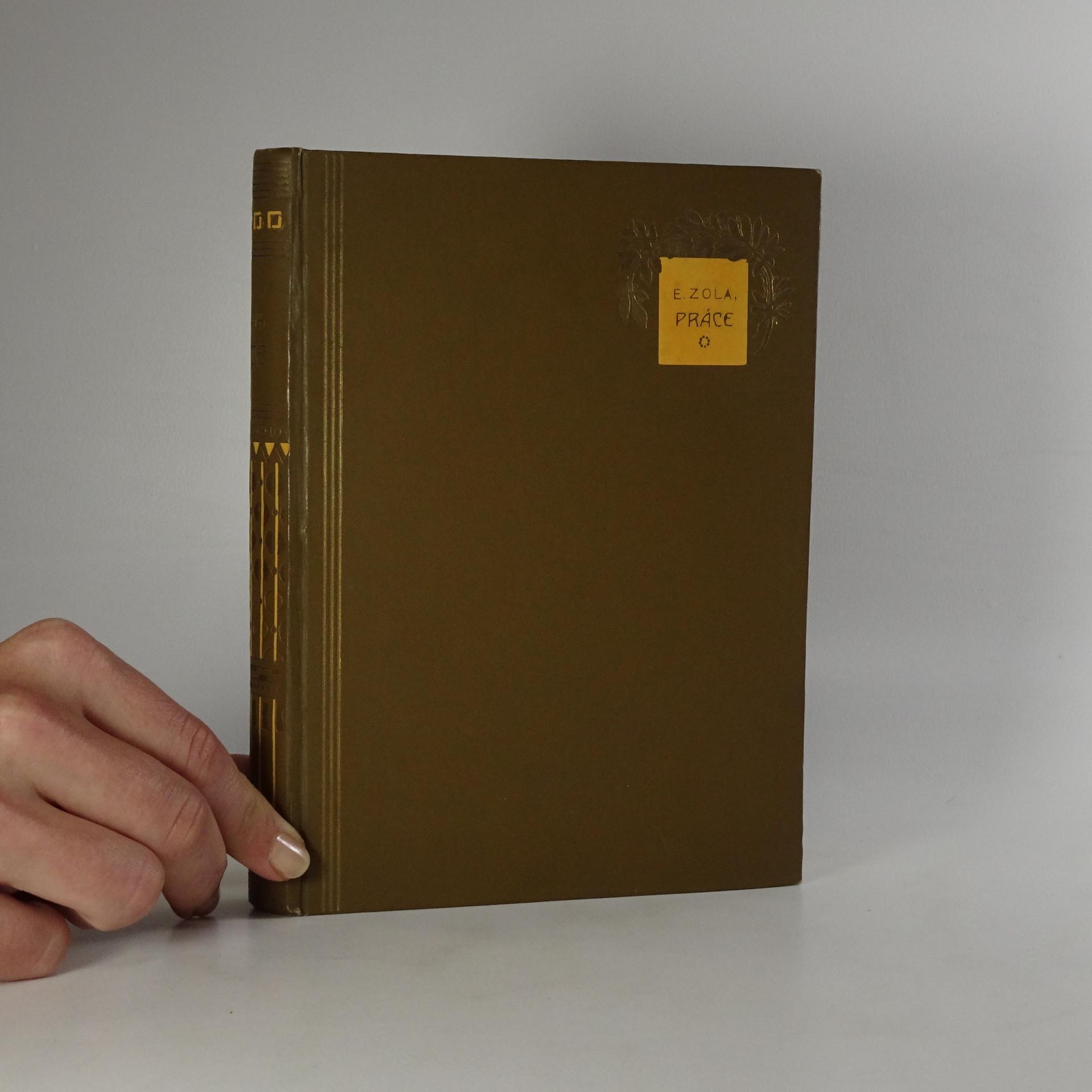 antikvární kniha Práce, 1921
