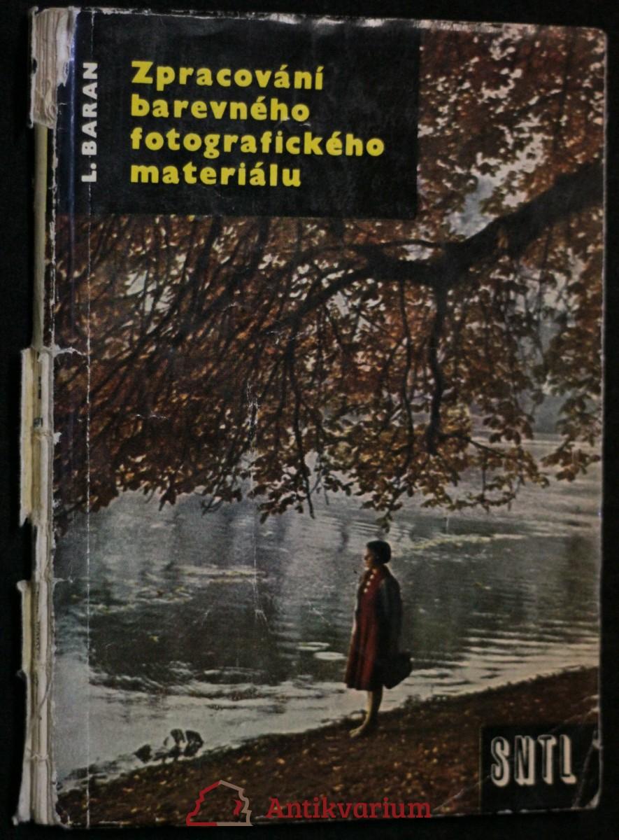 antikvární kniha Zpracování barevného fotografického materiálu, 1960