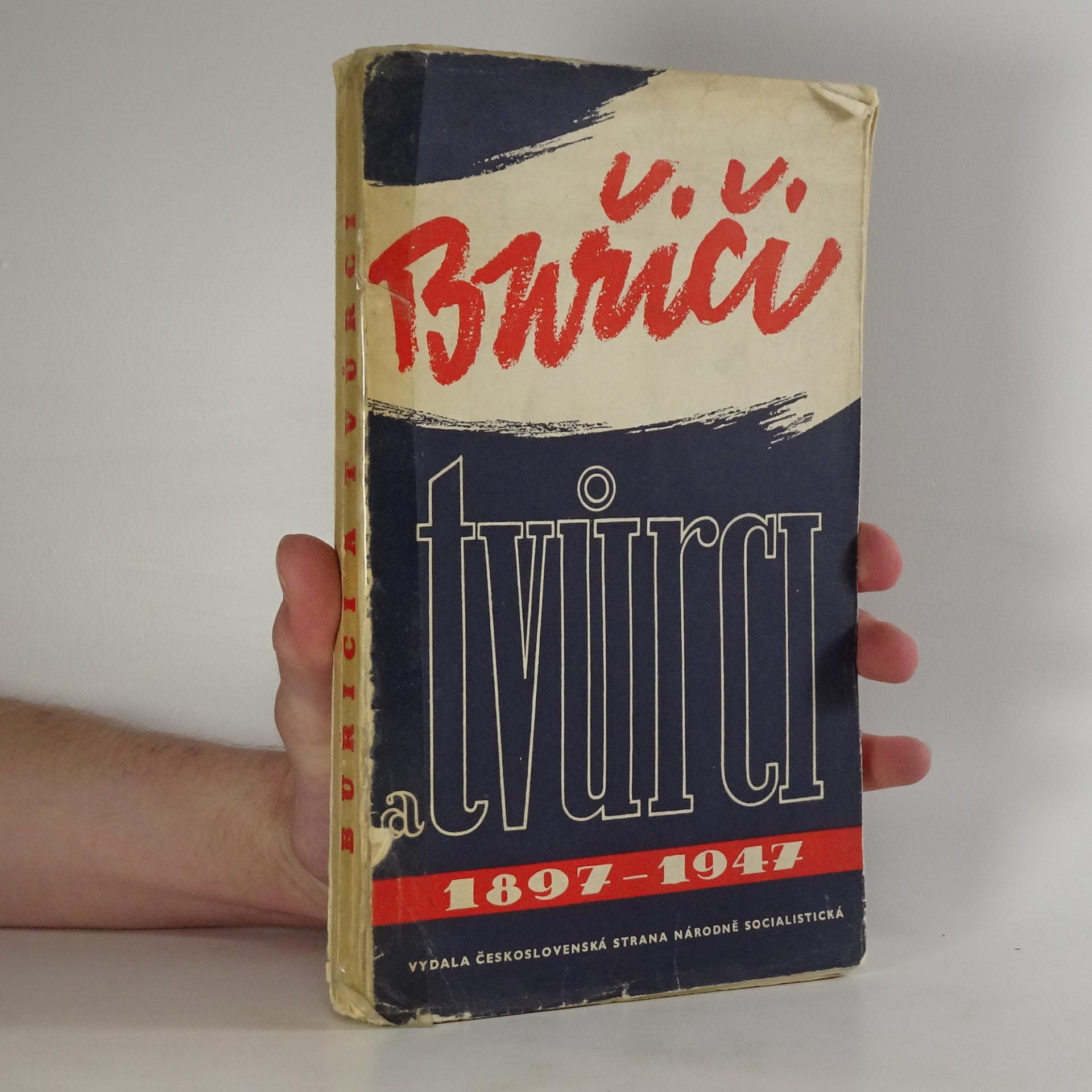 antikvární kniha Buřiči a tvůrci, 1947