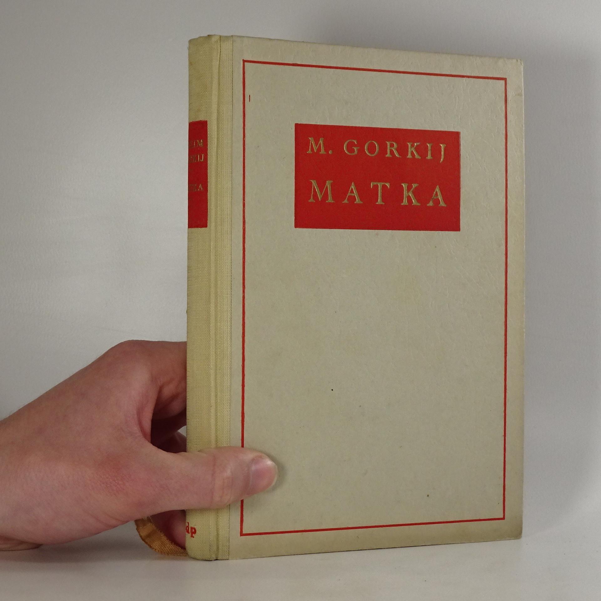 antikvární kniha Matka, 1951